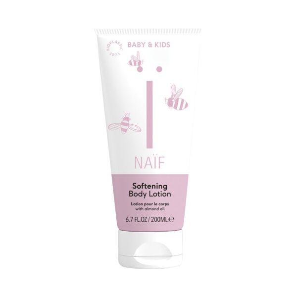 Naïf Body Lotion 200ml witte rube roze etiket