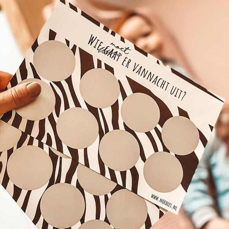 kraskaarten zebra