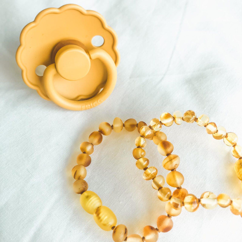 barnsteen armband honey gold frigg