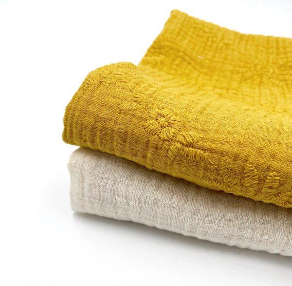 h doek moster geel set