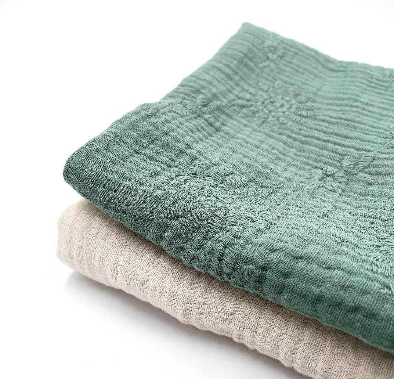 h doek oud groen set