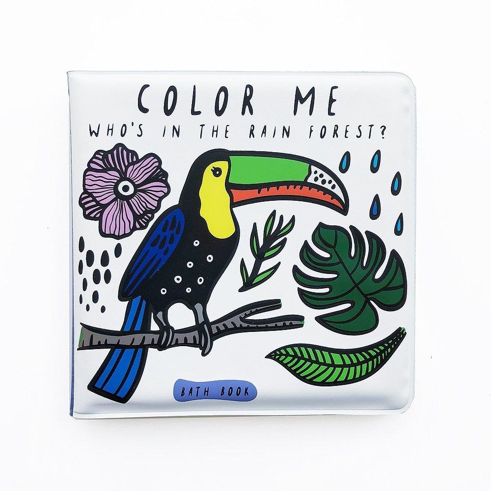 wee gallery badboek regenwoud rainforest